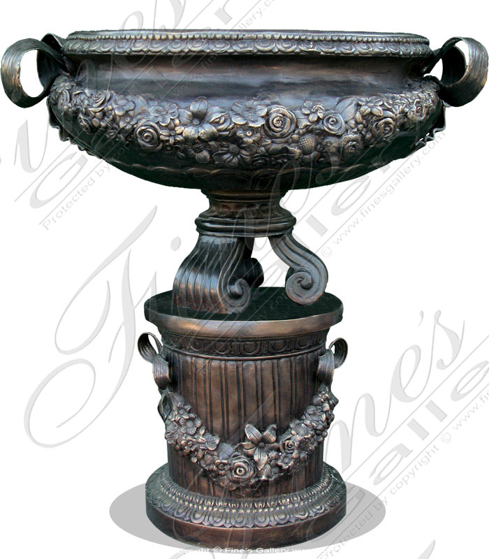 Bronze Planters  - The Greek Planter - BP-112