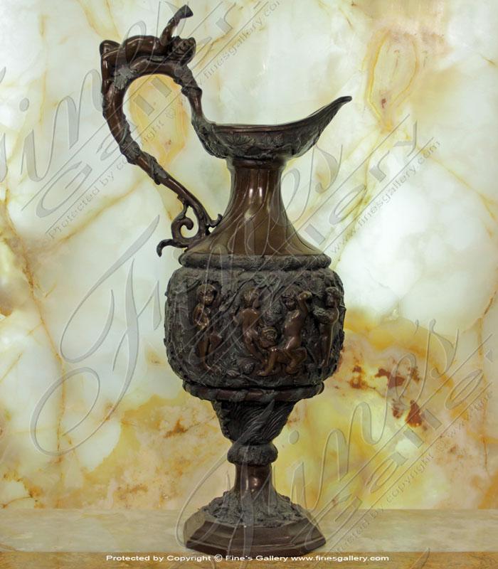 Bronze Planters  - Bronze Urn - BP-156