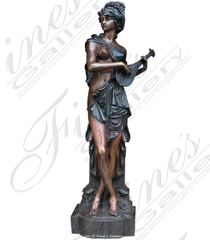 Bronze Statues  - Enchanting Maiden - BS-105