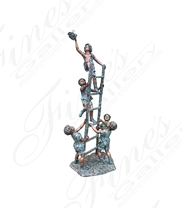 Bronze Statues  - Child Cooperation - BS-107