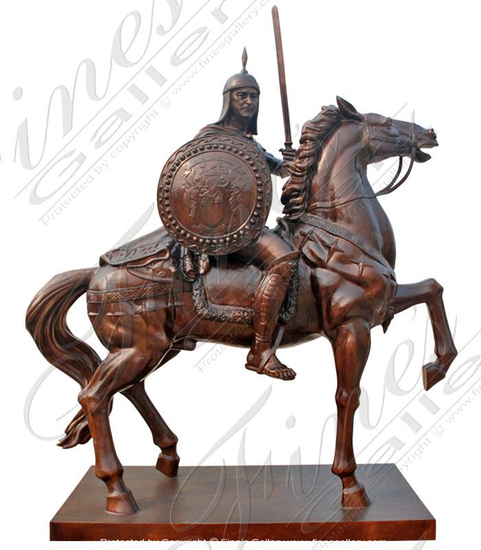 Bronze Statues  - The Warrior - BS-1084