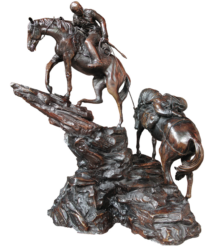 Bronze Statues  - Geronimo - BS-109