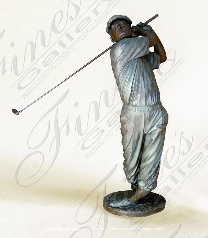 Bronze Statues  - Tee Off Swinger - BS-117