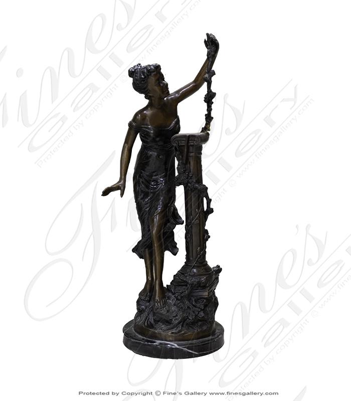 Bronze Statues  - Bronze Female Statue - BS-1370