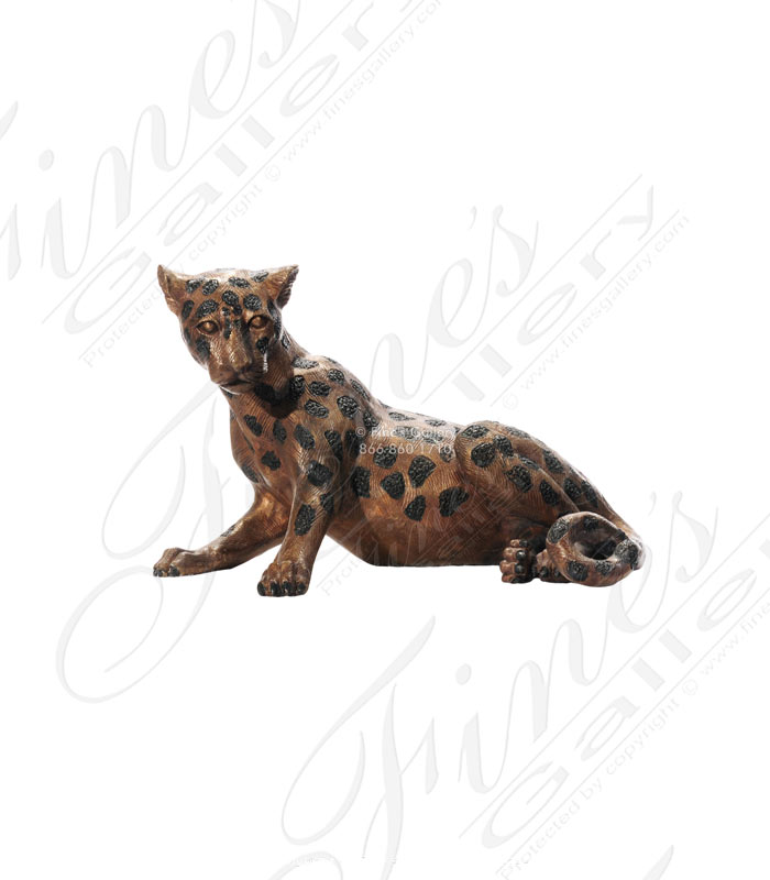 Bronze Statue Cheetah