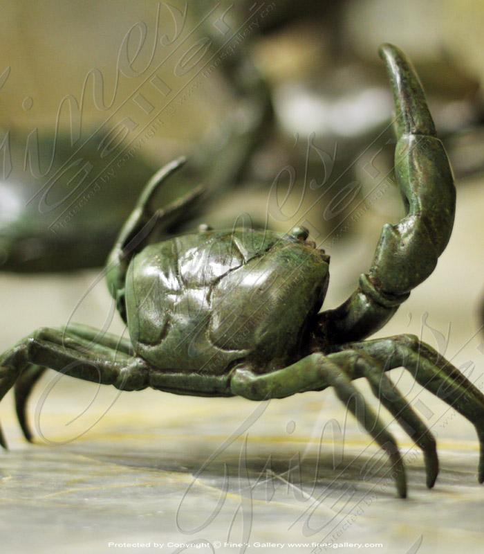 Bronze Statues  - Bronze Crab Statue - BS-1421