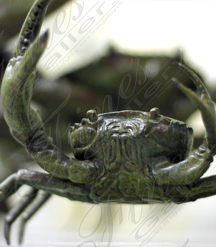 Bronze Statues  - Bronze Crab Statue - BS-1422