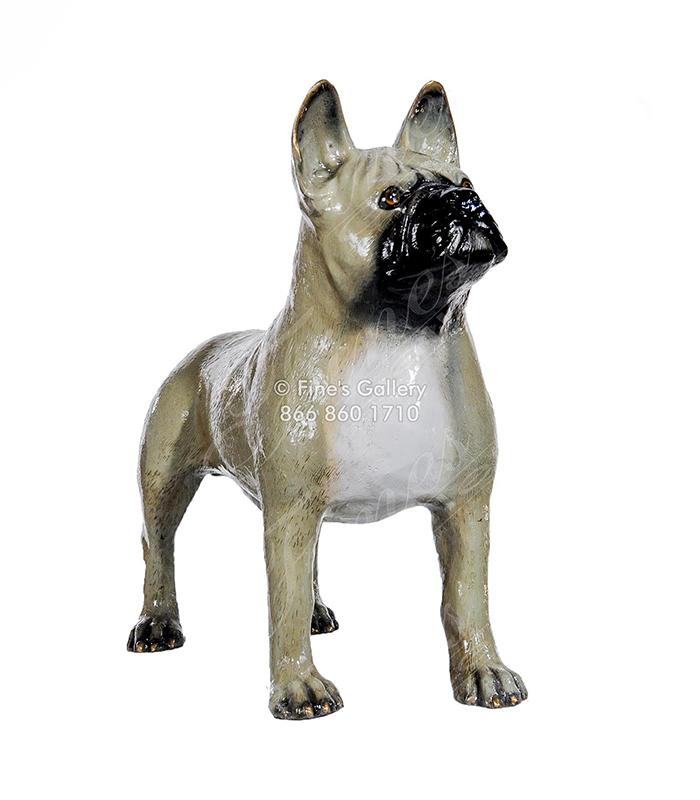 Bronze French Bull Dog