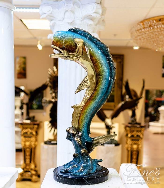 31 Inch Bronze Mahi Mahi