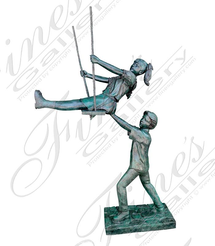 Bronze Statues  - Swing - BS-187