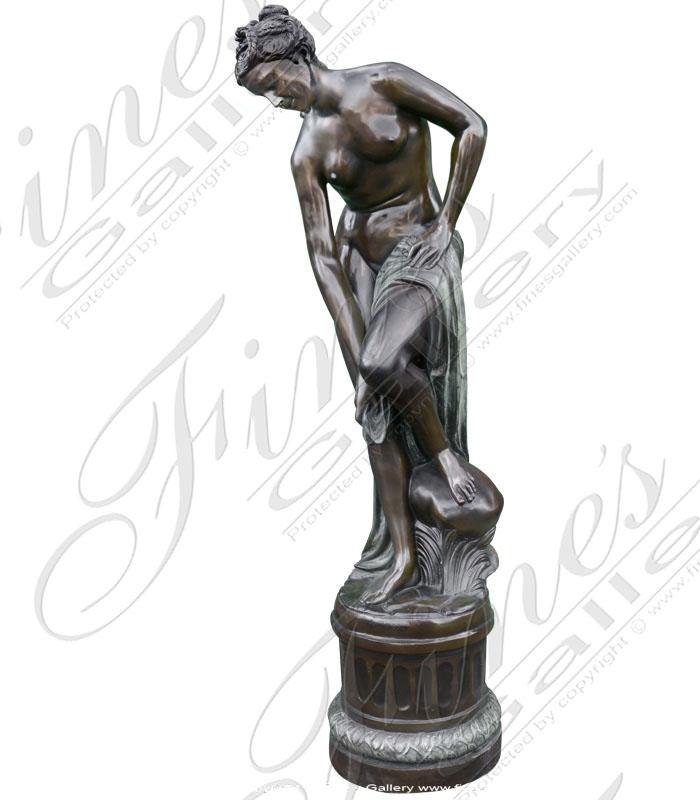 Bronze Bathing Maiden