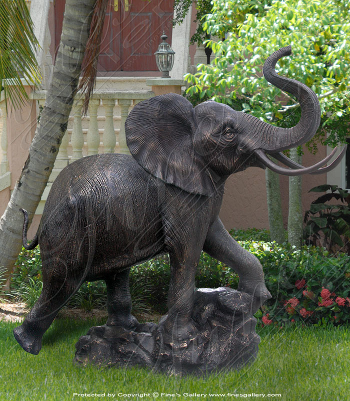 Bronze Statues  - The Elephant - BS-259