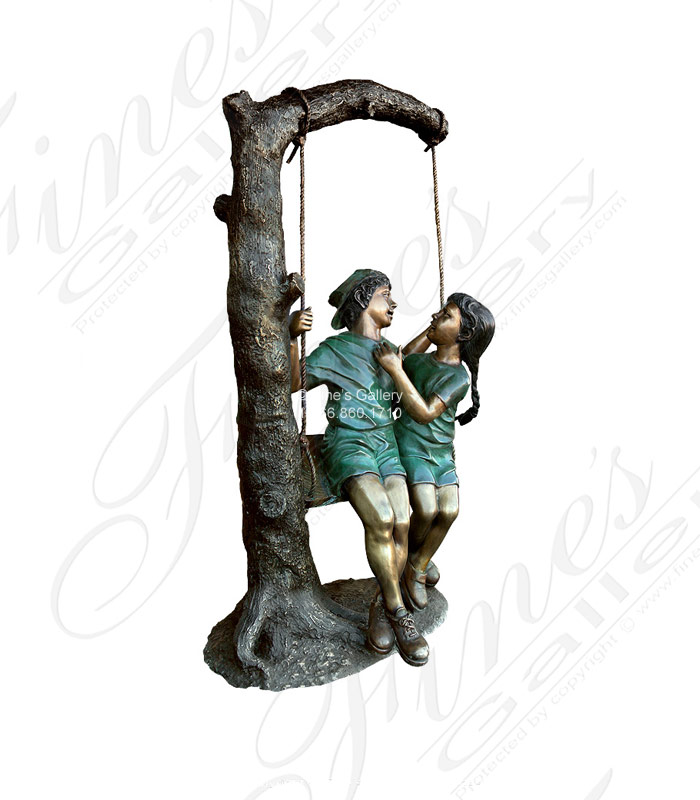 Bronze Statues  - The Swing - BS-297