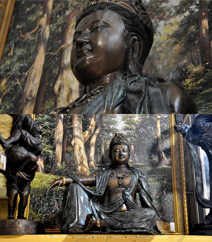 Bronze Hindu God