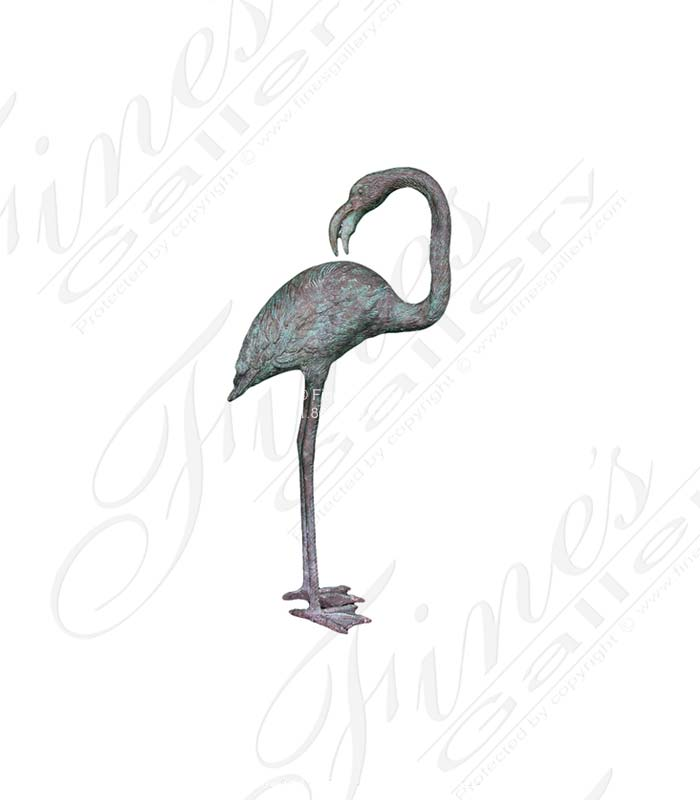 Search Result For Bronze Statues  - Bronze Heron Bird Statue - BS-658