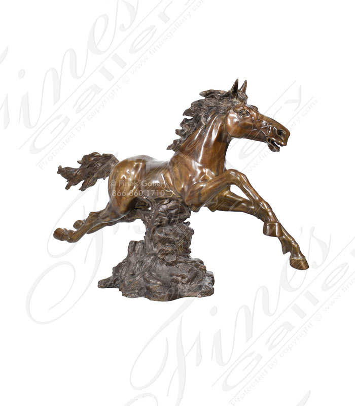 Bronze Statues  - Medieval Warrior - BS-159