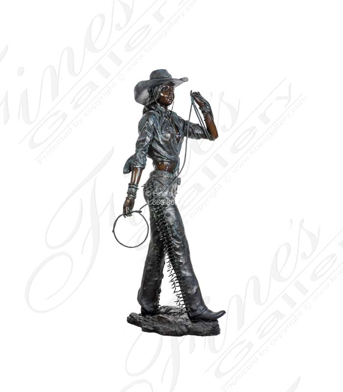 Bronze Statues  - Powow Dancer Bronze Statue - BS-516
