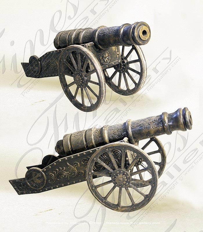 Bronze Statues  - Bronze Cannon - BS-859