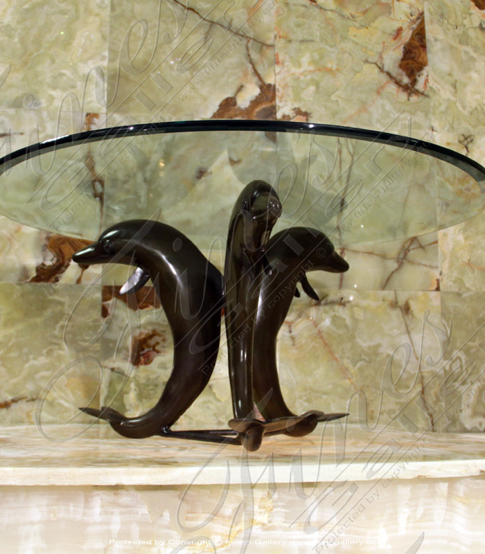 Bronze Tables  - Bronze Mermaid Table - BT-108