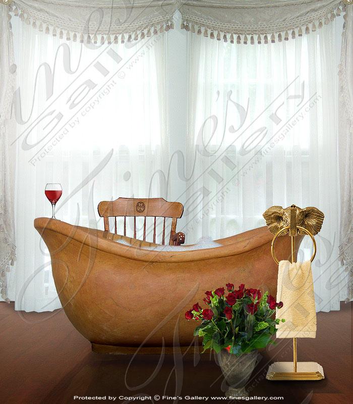 Marble Kitchen and Baths  - Bath Tub - KB-037