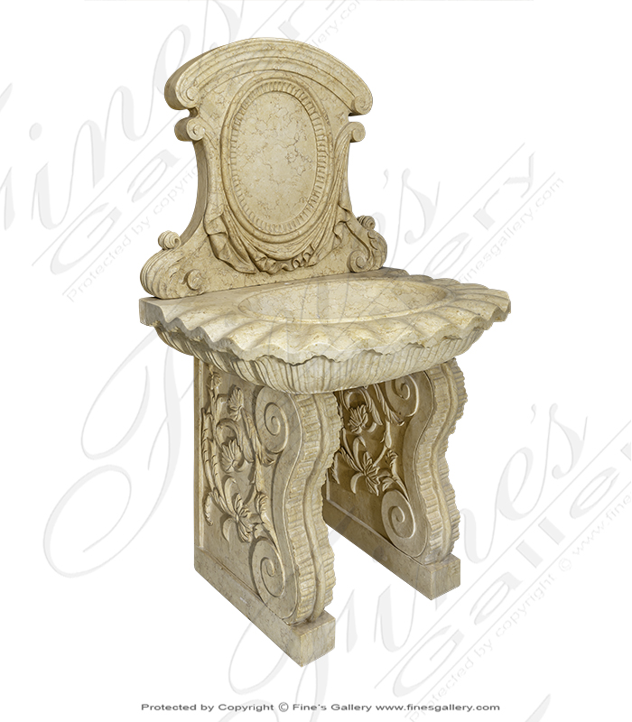 Marble Kitchen and Baths  - Beautiful Brown Marble Tub - KB-044