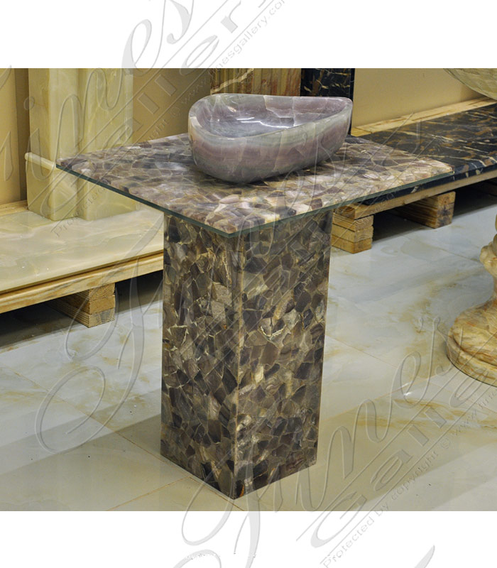 Marble Kitchen and Baths  - Majestic Onyx Sink - KB-138