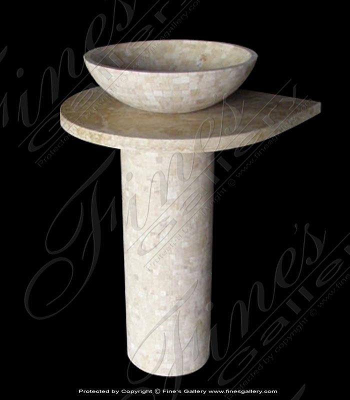 Marble Kitchen and Baths  - Fine Elegance Bath Room Sink - KB-152