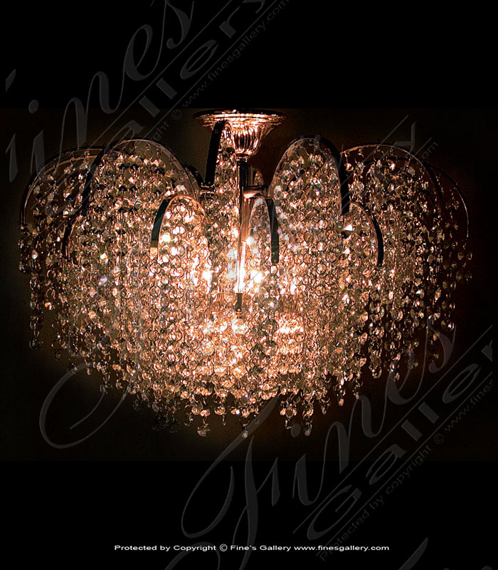 Lighting Chandeliers  - Arch Style Crystal Chandelier - LC-102