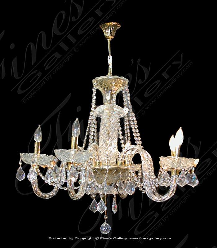 Lighting Chandeliers  - Elegance Crystal Chandelier - LC-123