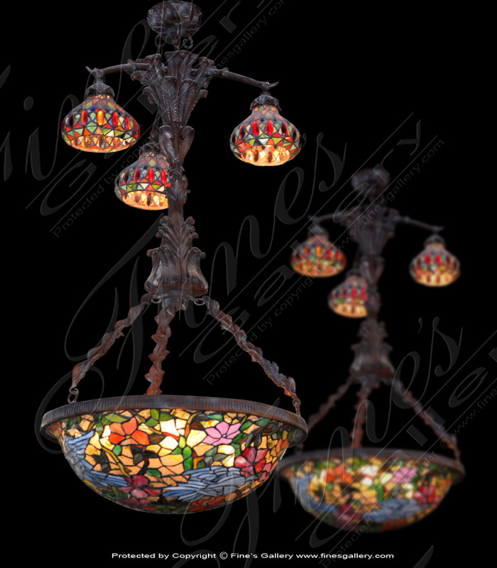 Lighting Chandeliers  - Garden Bluebird Chandelier - LC-139