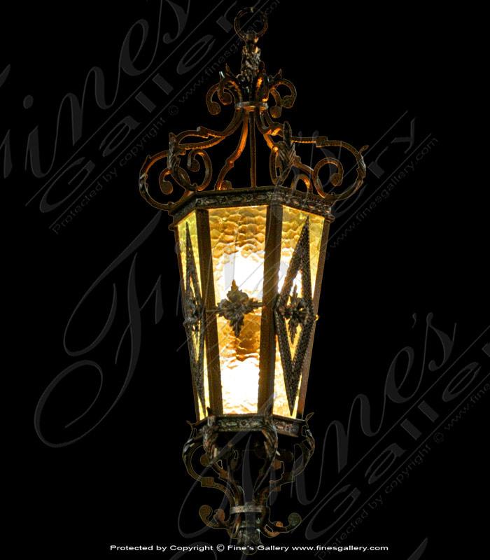 Ornate Light Fixture