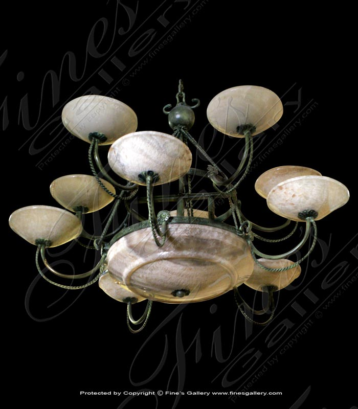 Lighting Chandeliers  - Onyx Lighting Chandelier - LC-157