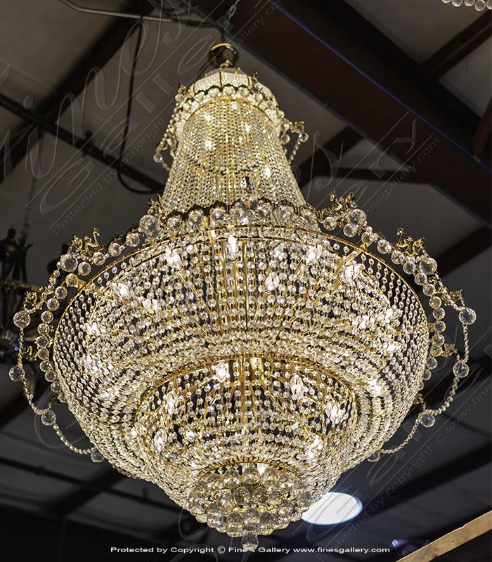 Lighting Chandeliers  - Amazing Crystal Chandelier - LC-261