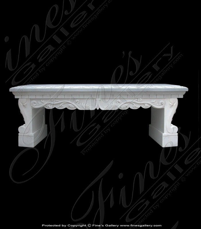 Marble Benches  - English Garden - MBE-112