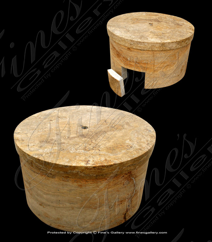Marble Bases  - Fountain Marble Base - MBS-044