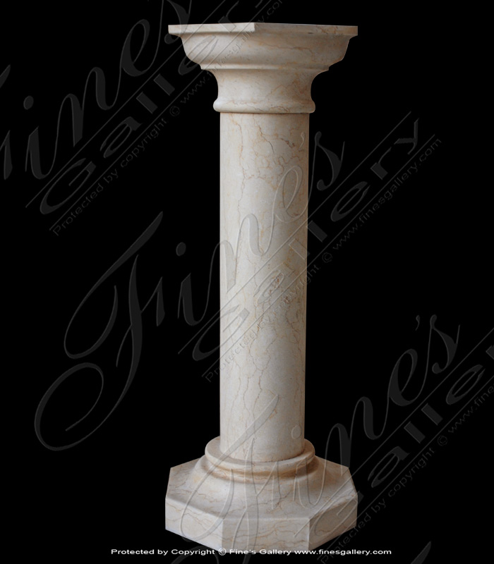 Marble Bases  - Classical Marble Base - MBS-147