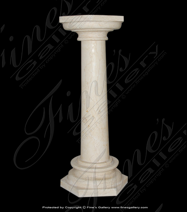 Marble Bases  - Classical Column Marble Base - MBS-148