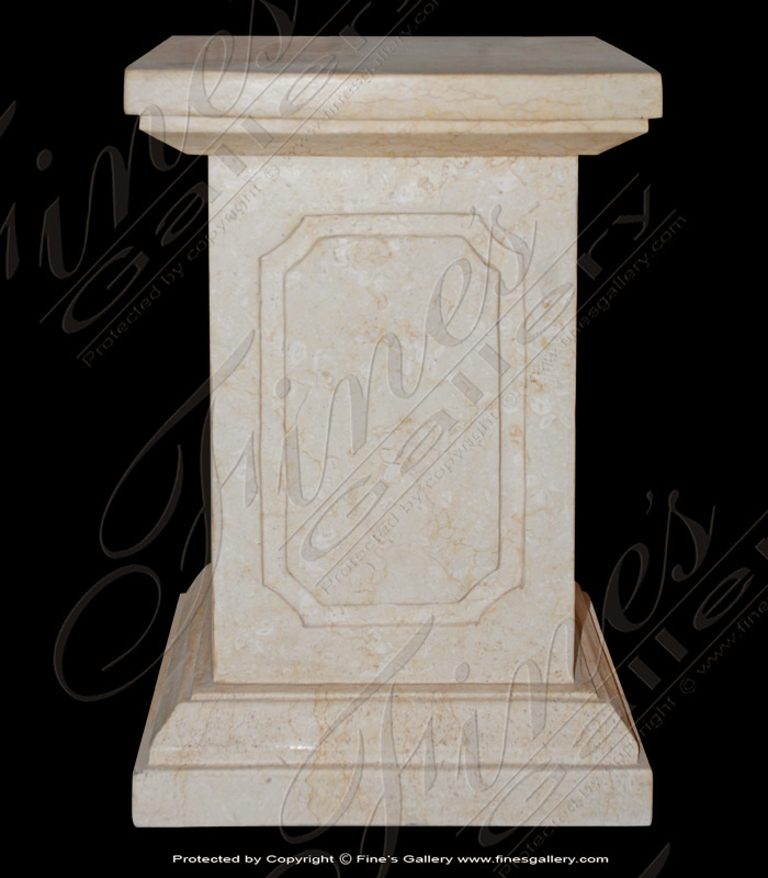 Marble Bases  - Elegant Square Marble Base - MBS-150