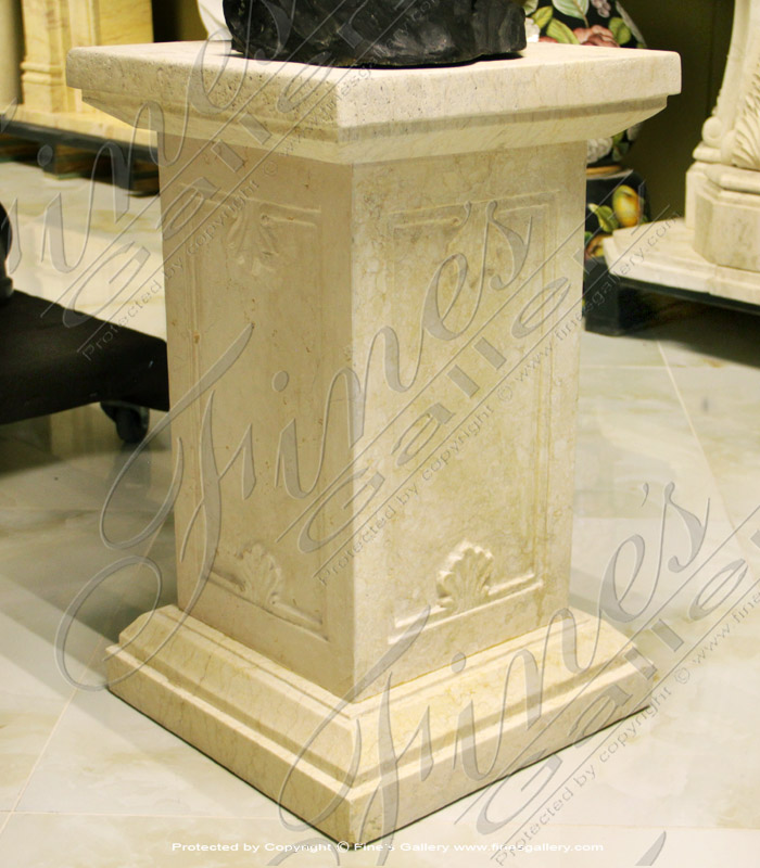 Marble Bases  - Rectangular Tan Mable Base - MBS-171