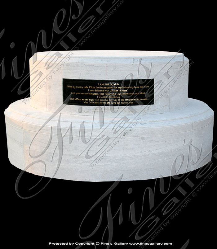 Marble Bases  - Marble Base - MBS-177