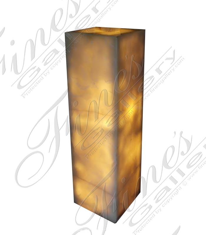 Marble Bases  - Onyx Base - MBS-211