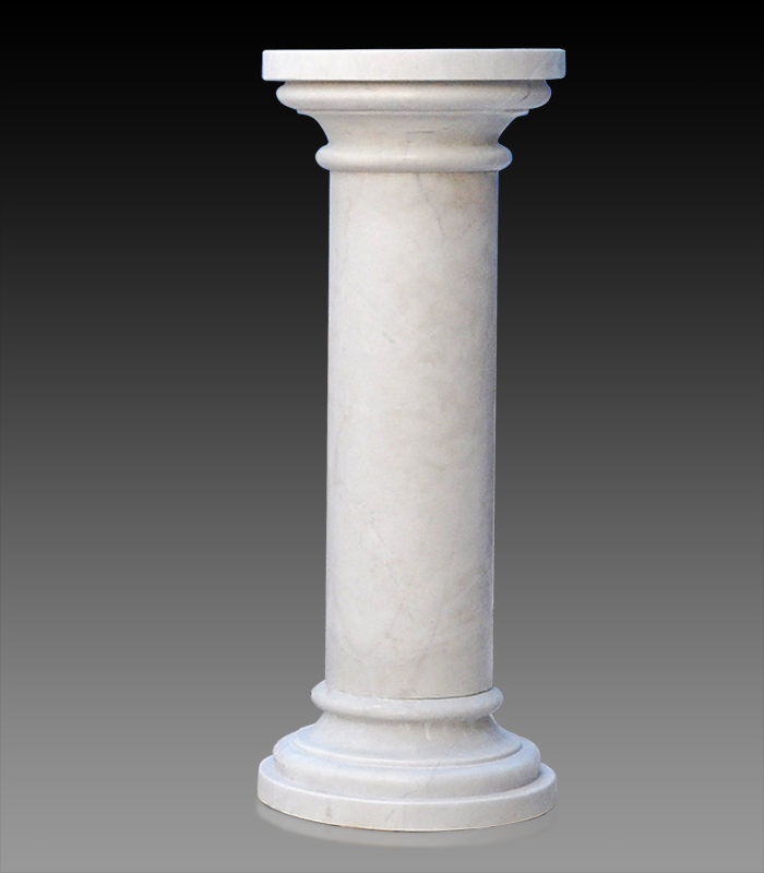 Marble Bases  - Classical Marble Pedestal - MBS-255