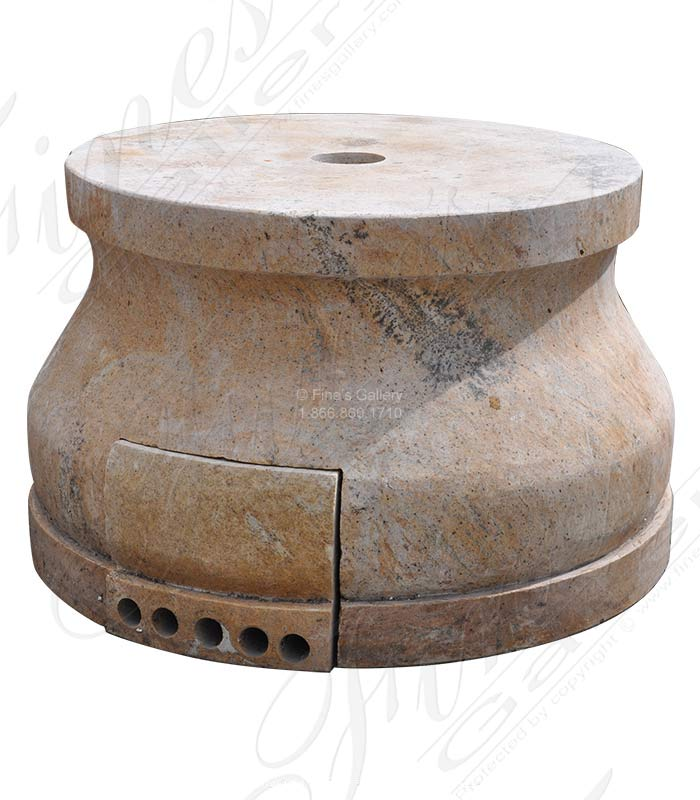 Marble Bases  - Hollow Granite Base - MBS-256