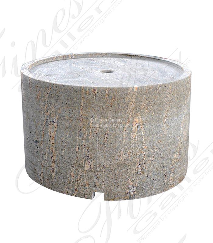 Hollow Granite Pedestal