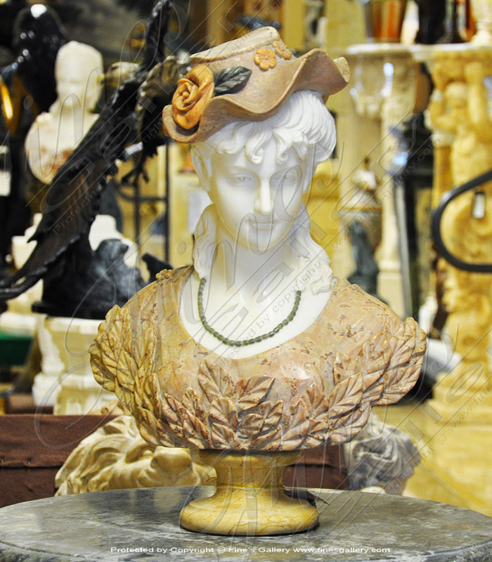 Victorian Marble Bust