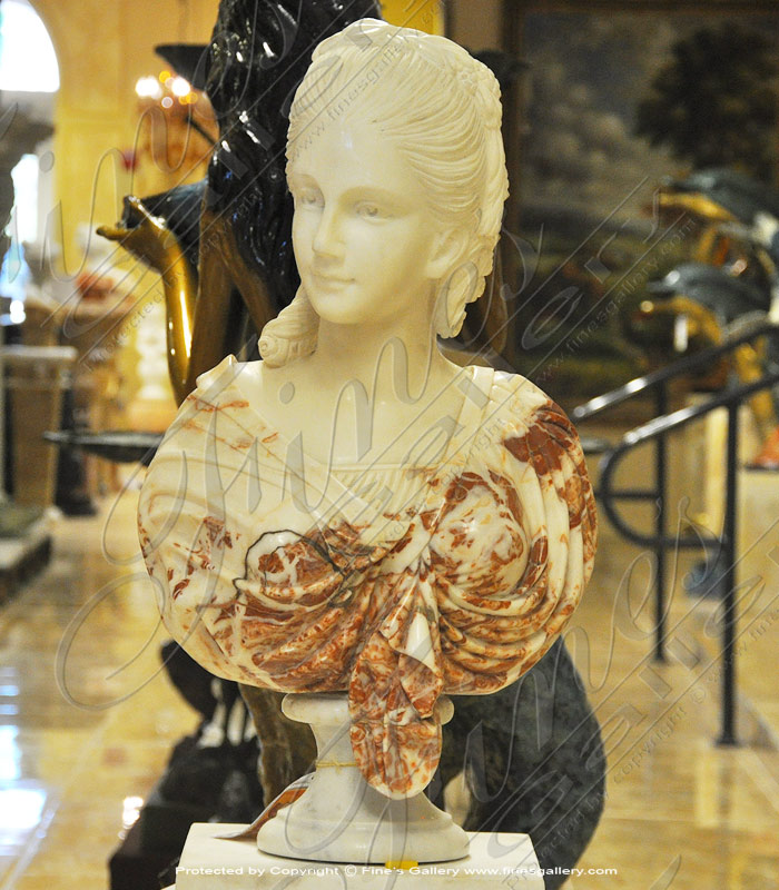 Search Result For Marble Statues  - Victorian Period Bust - MBT-400