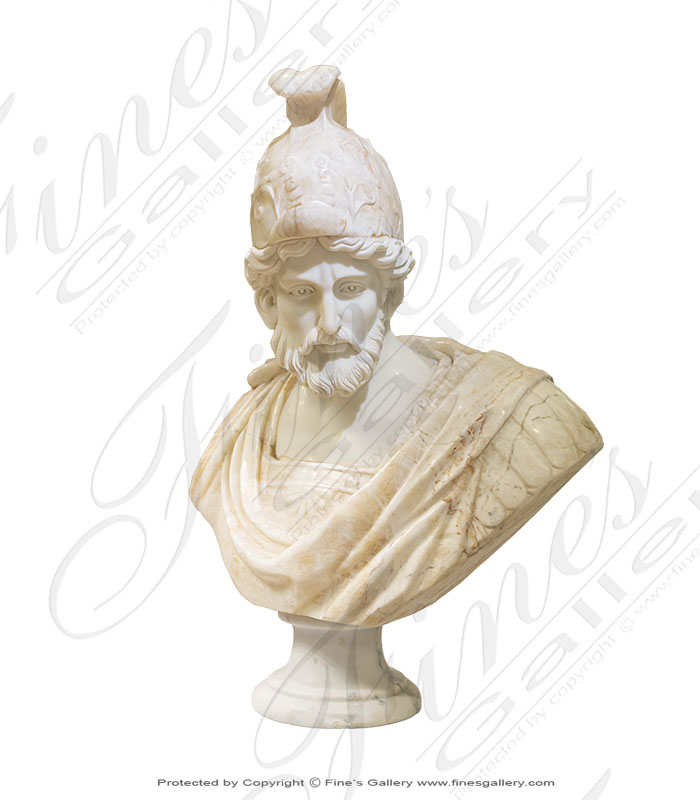 Roman Soldier Bust