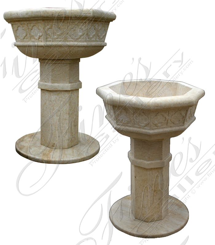 Marble Church Products  - Marble Baptismal Vessel  - MCH-003