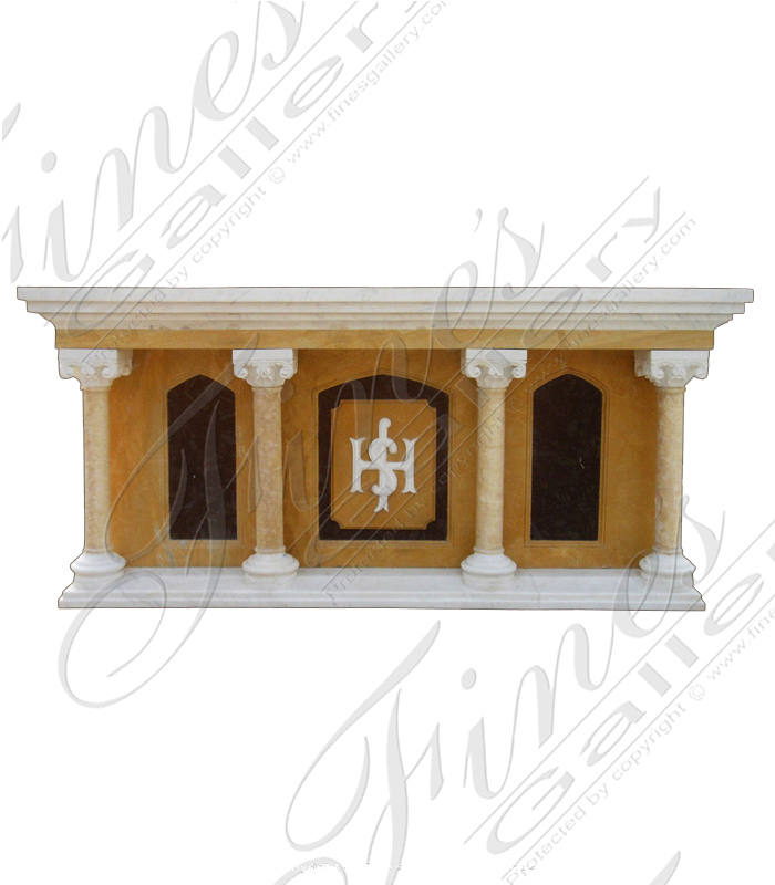Marble Church Alter