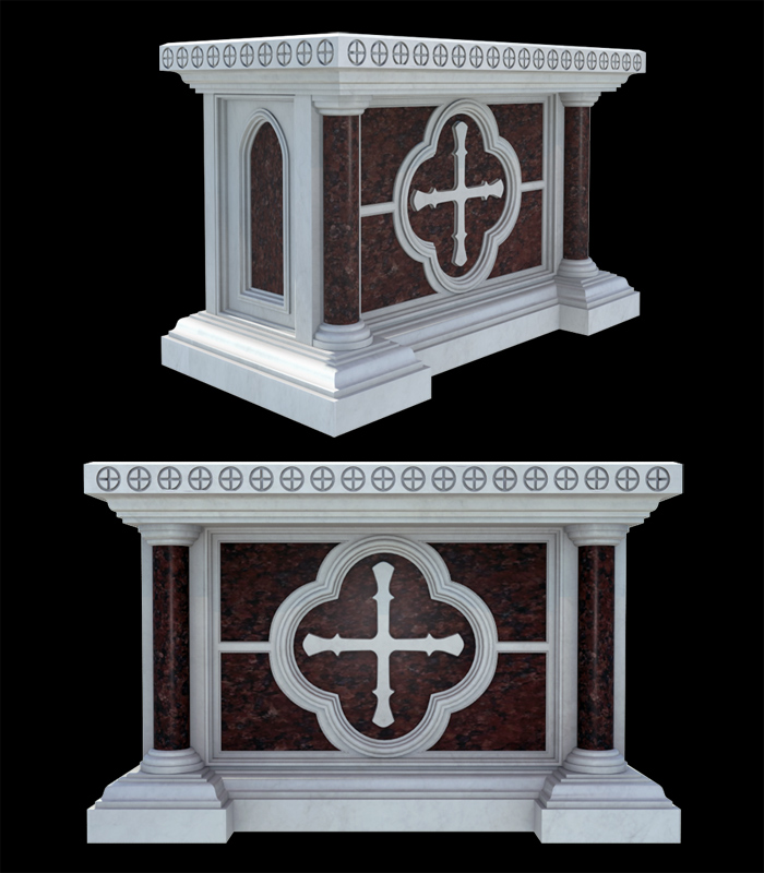 Marble Church Products  - Marble Church Altar - MCH-013